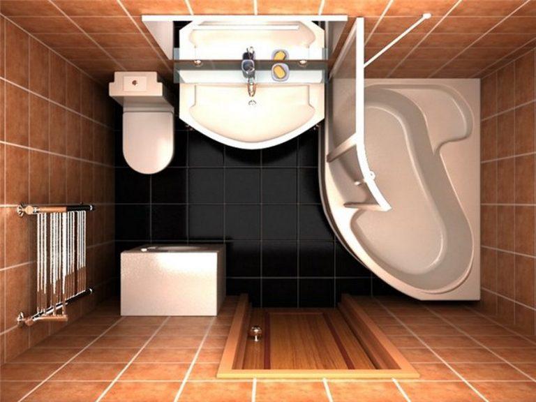 Дизайн маленькой ванной 3 кв м