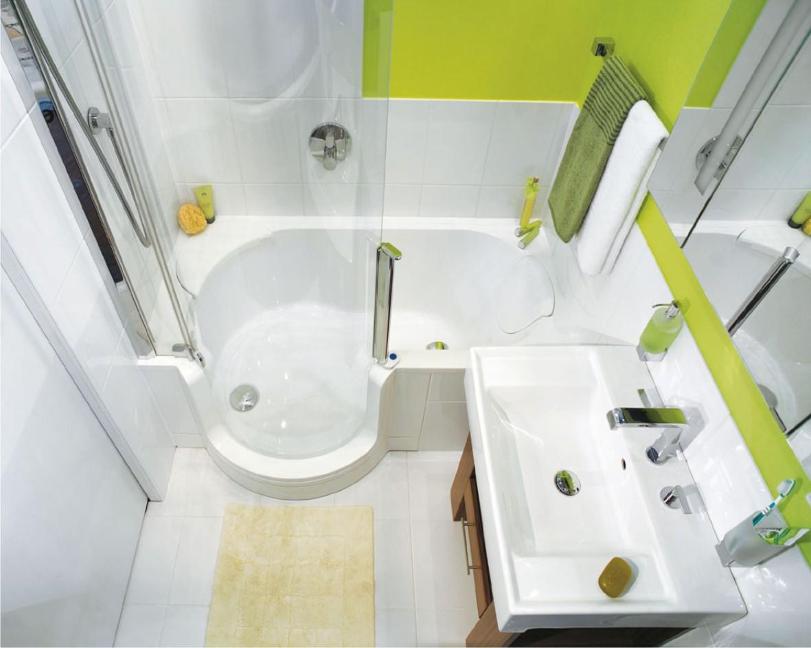 пример маленькой ванной в хрущевке