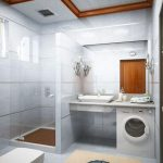 пример маленькой ванной в квартире фото