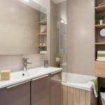 дизайн маленькой ванной в квартире фото