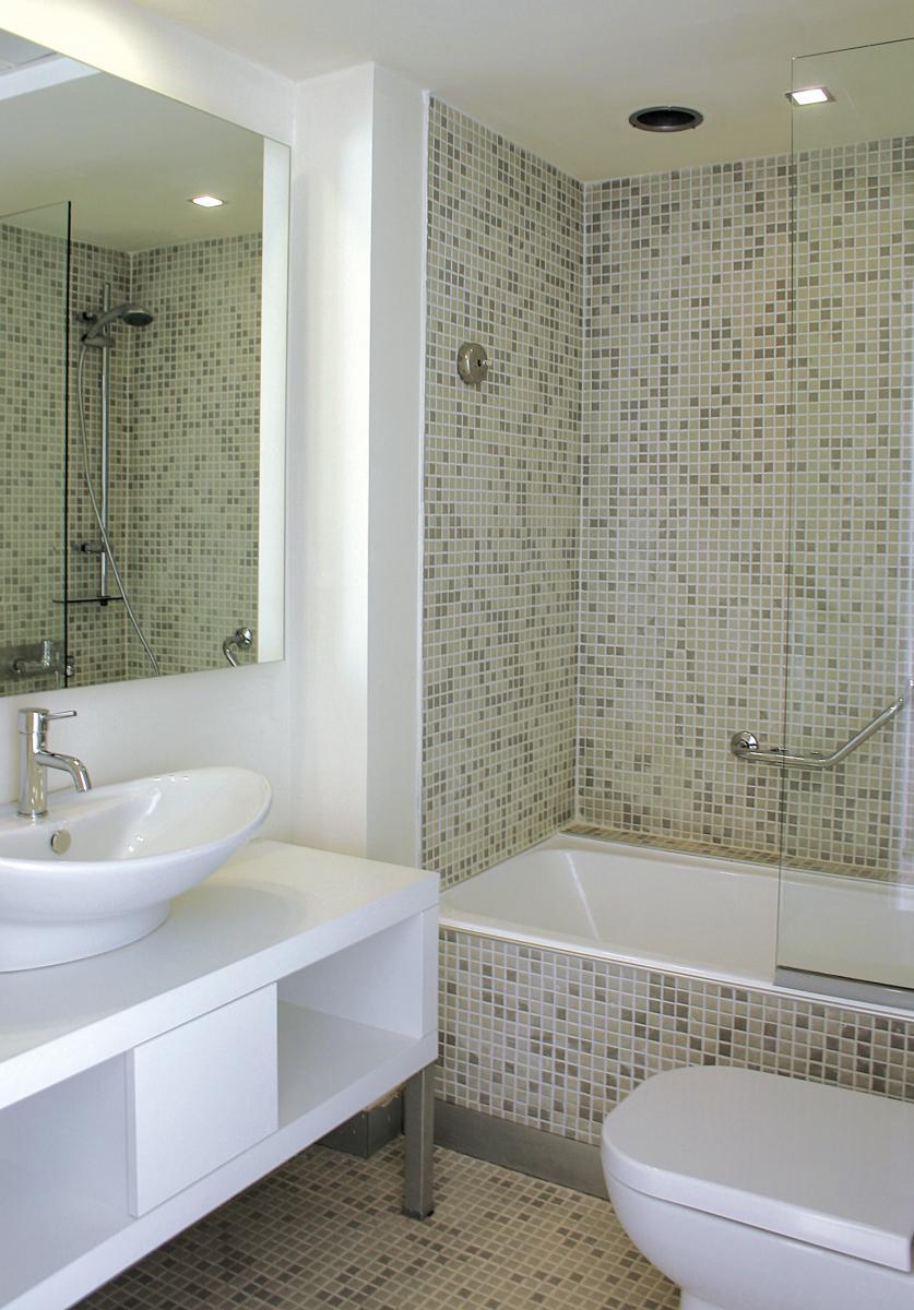 пример маленькой ванной в квартире