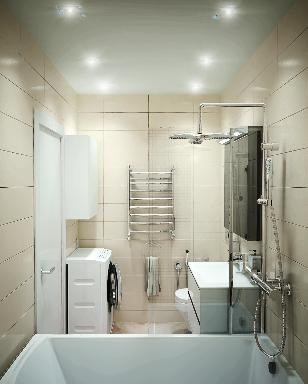 картинка маленькой ванной в доме