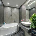 пример ванной в белом цвете фото