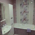 оформление ванной комнаты в светлых тонах фото