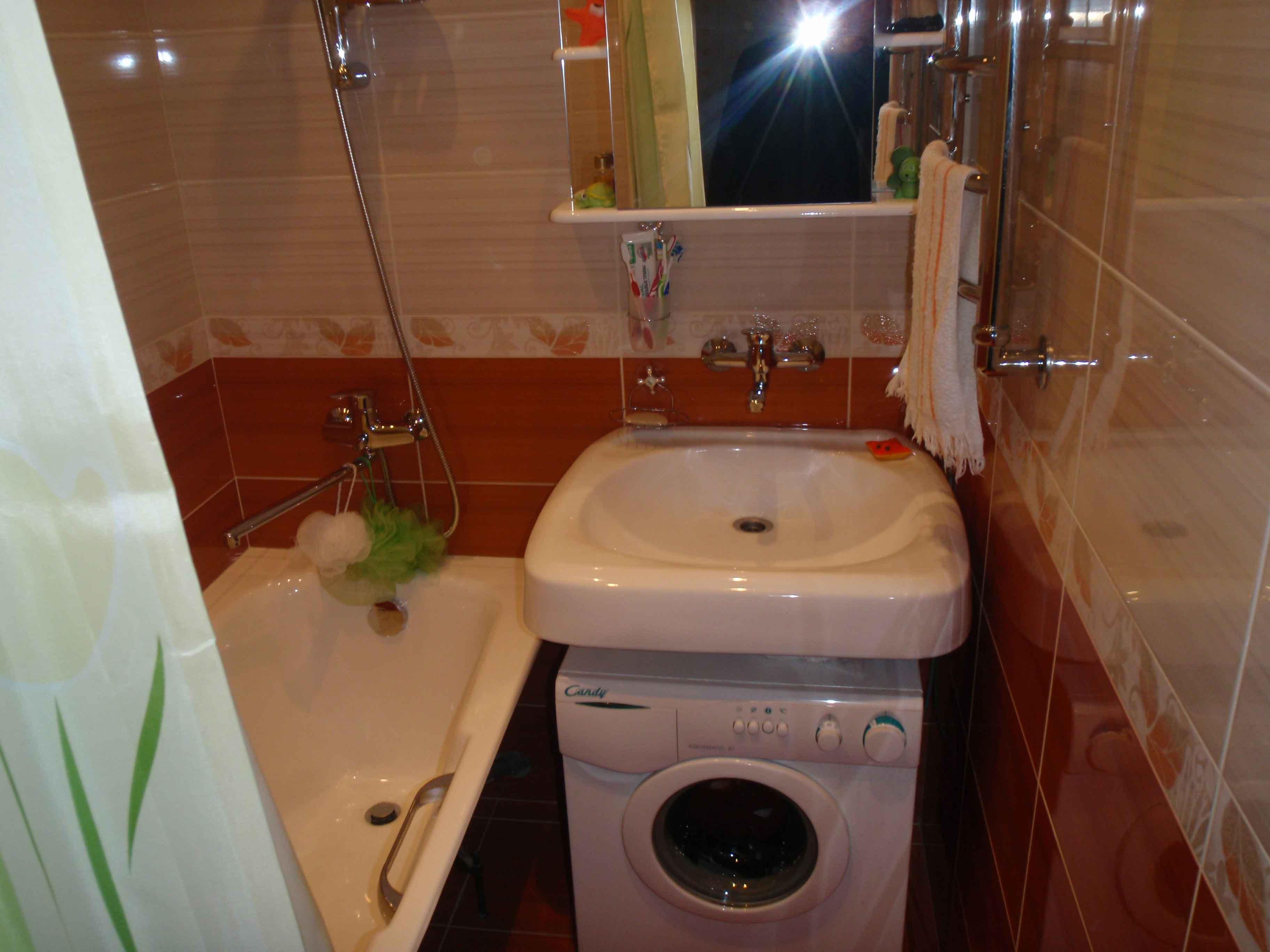 дизайнерское решение ванной комнаты
