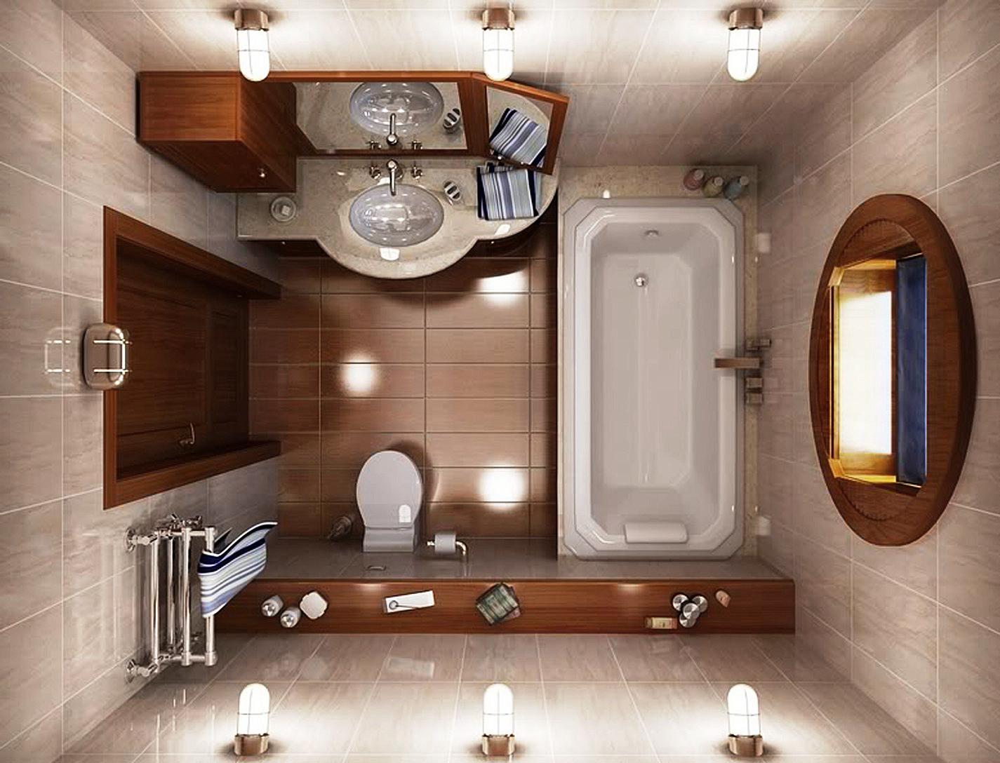 дизайнерское решение маленькой комнаты