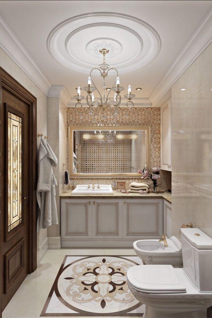 дворцовый стиль ванной