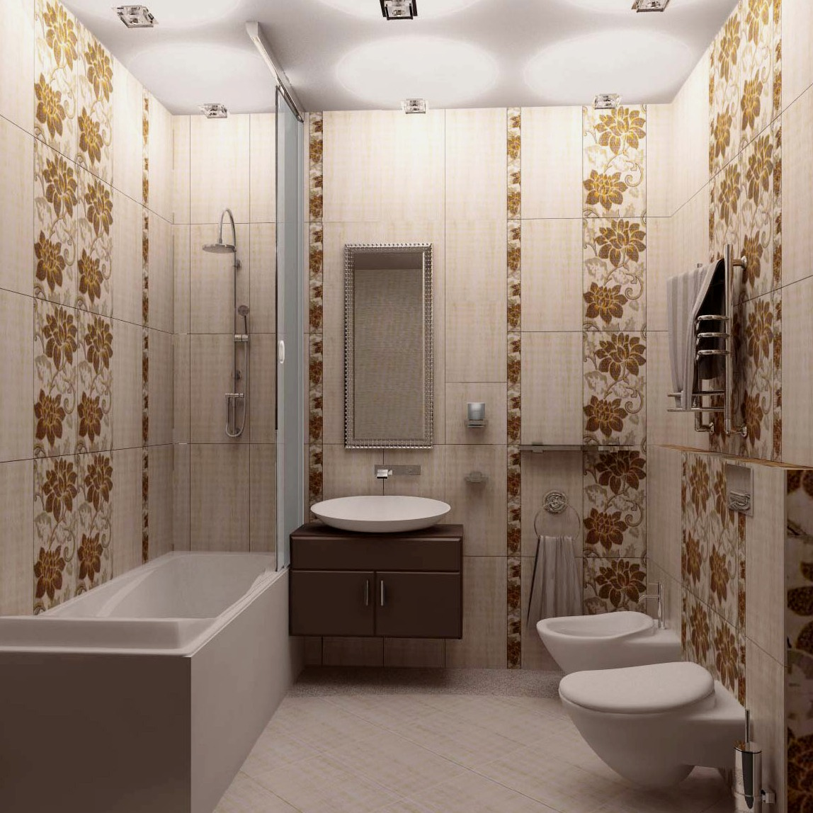 Плитка для ванной комнаты дизайн для маленькой ванны