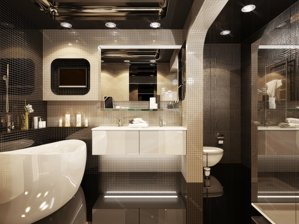 Свет для ванной дизайн фото