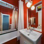 дизайн маленькой ванной в доме картинка