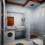 интерьер маленькой ванной в квартире картинка
