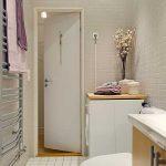 дизайн маленькой ванной в доме фото