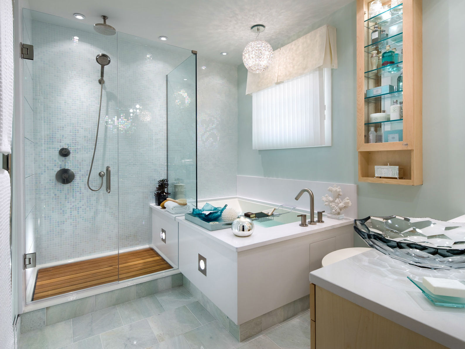 цвет ванной душевой в квартире в темном цвете