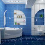 оформление ванной в белом цвете фото