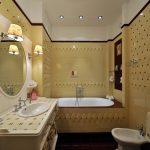 пример ванной комнаты в квартире фото