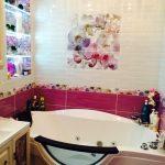 интерьер маленькой ванны в квартире фото