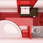 пример маленькой ванны в доме фото