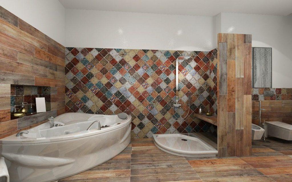 керамогранит для дизайна ванной