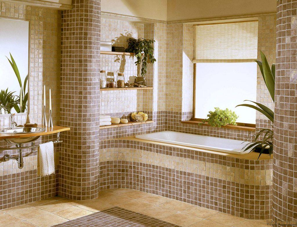 клинкерная плитка для ванной комнаты