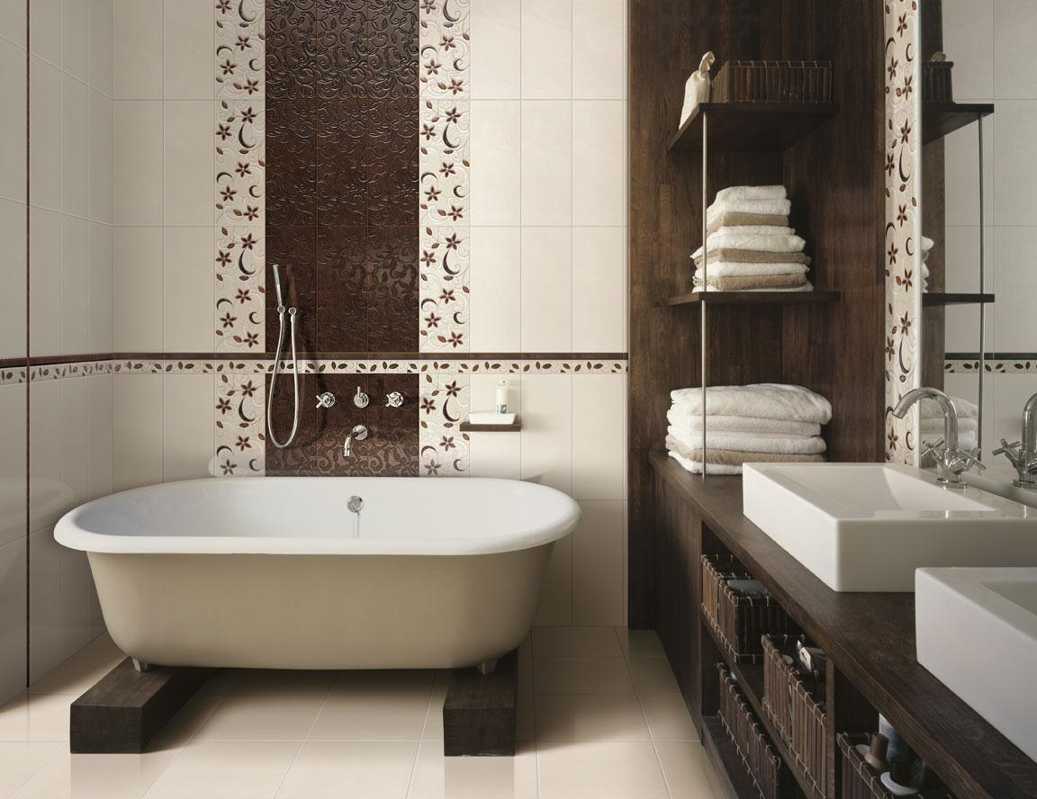 цвет ванной в доме в ярком свете
