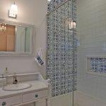 стекло используется в дизайне для ванной
