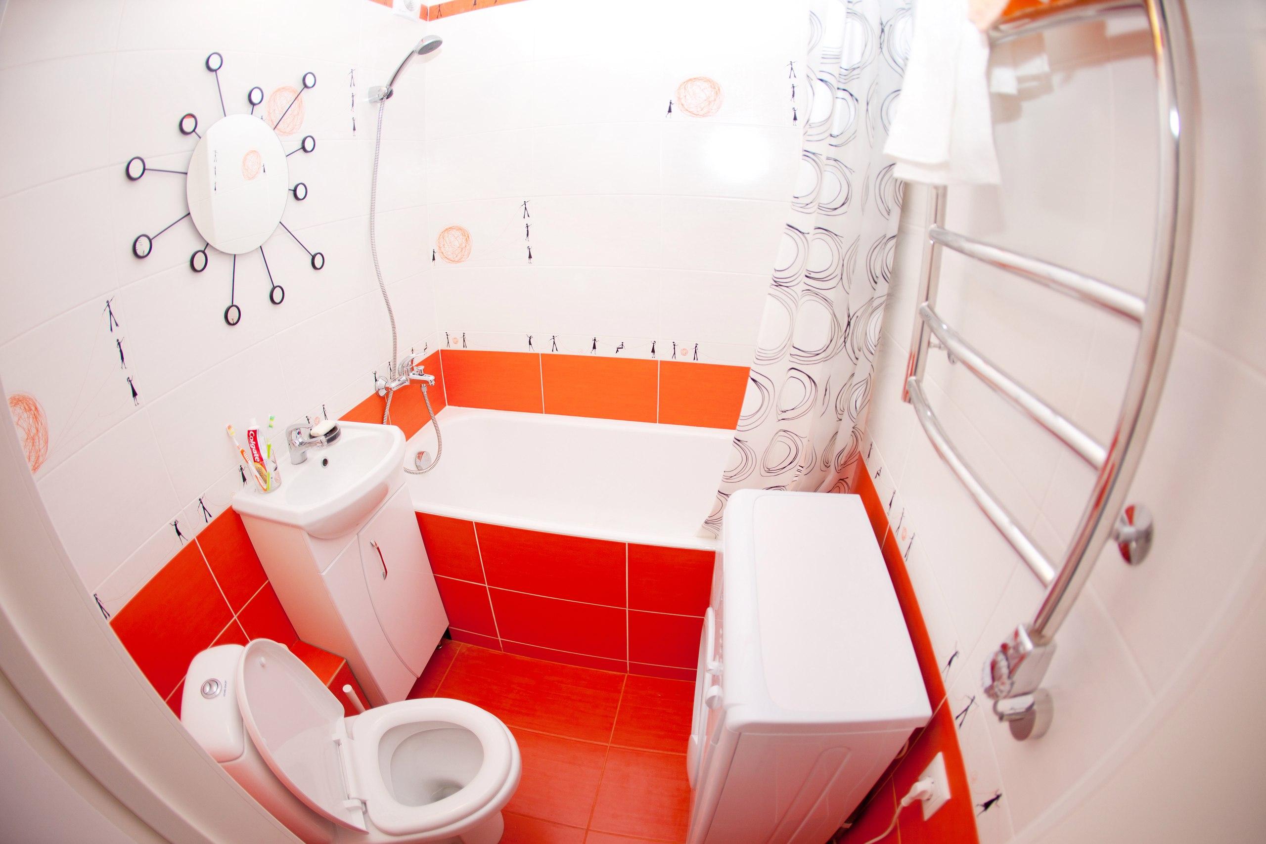 ванная комната с красивой плиткой