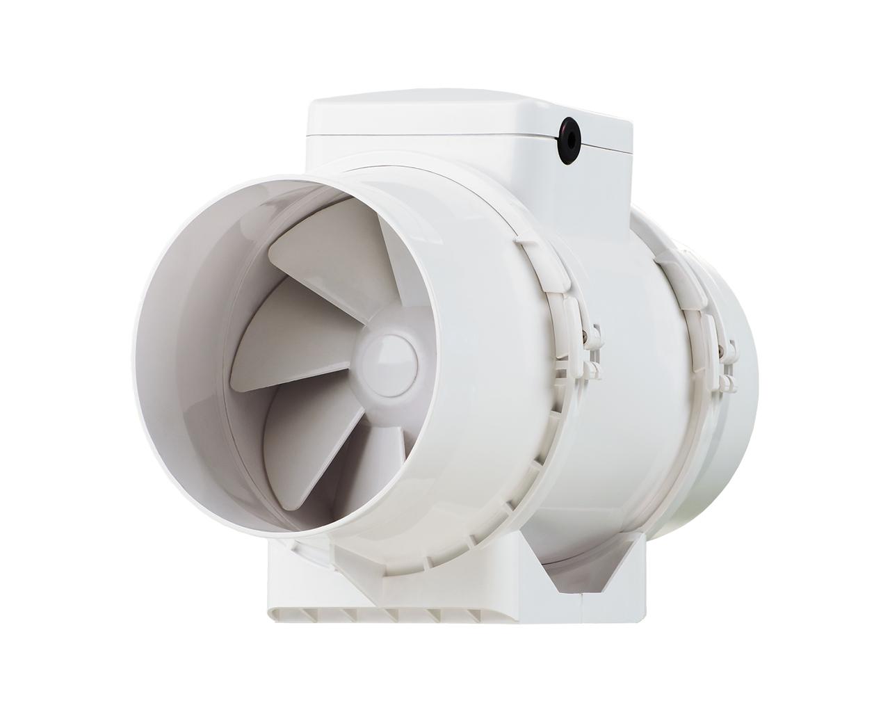 круглый вентилятор вытяжки у ванную комнату конструкции
