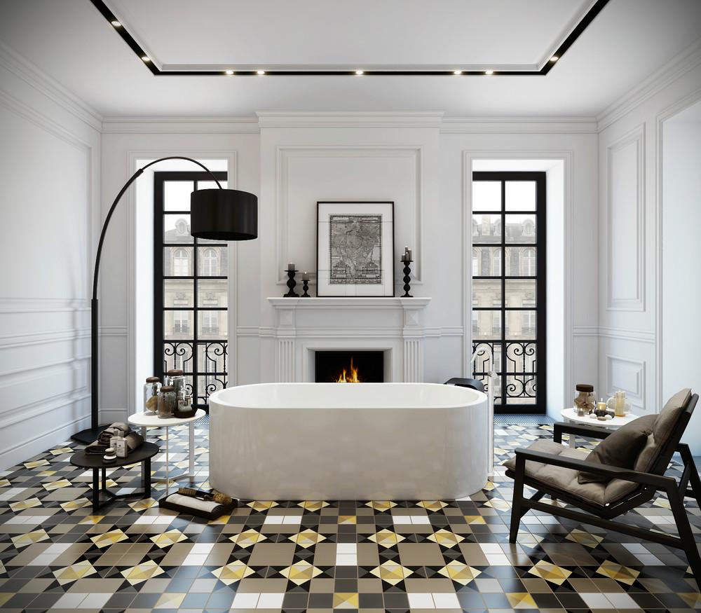 метлахская плитка для ванной
