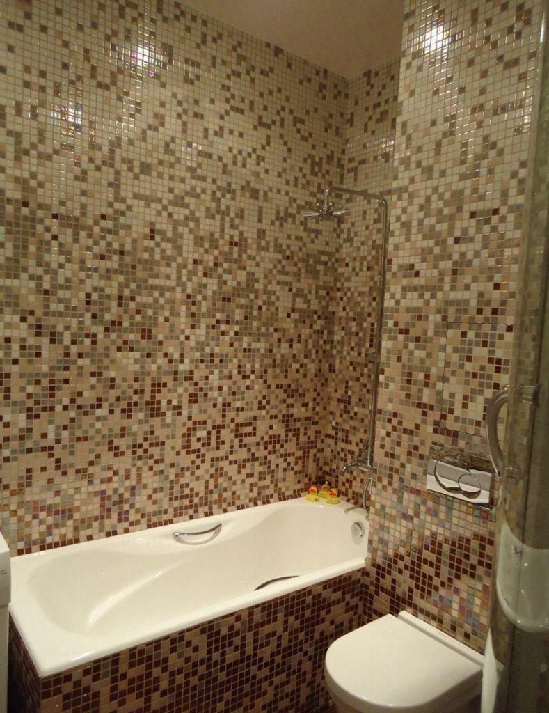 мозаичная плитка для ванной, мозаичное оформление