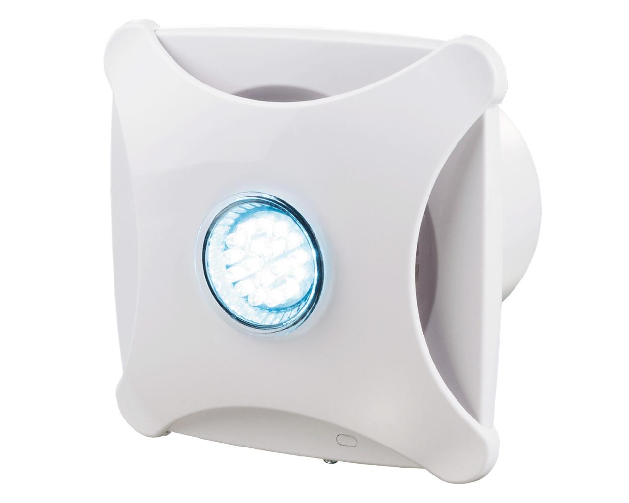 круглый вентилятор в ванную комнату