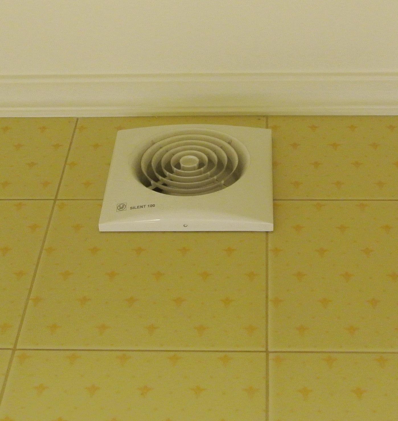 квадратный вентилятор вытяжной в ванную