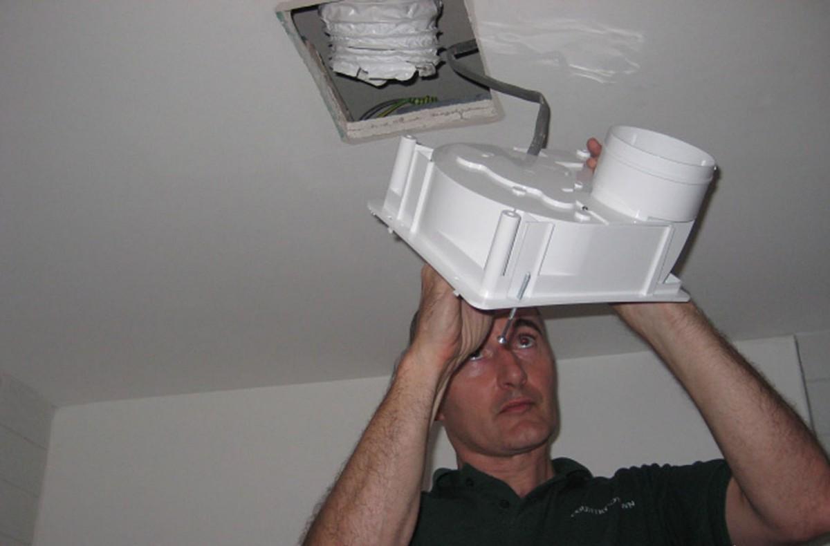 настенный вентилятор вытяжной для ванны