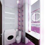 необычная кабинка душевая в душевой дизайн