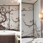 японская тематика ванной