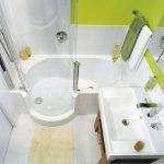интерьер ванной в белом цвете фото