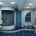 дизайн ванной комнаты в темном цвете фото
