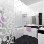 интерьер ванной комнаты в квартире фото
