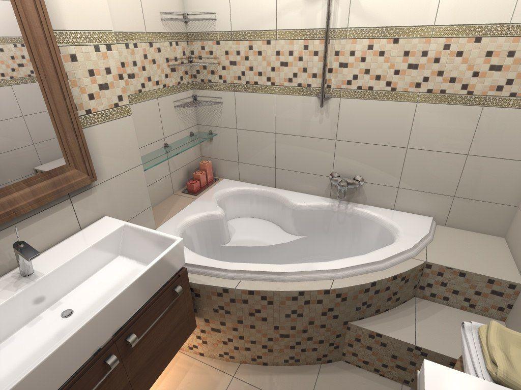 Дизайн ванной в маленькой ванной комнате