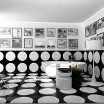 дизайн ванной в белом цвете фото