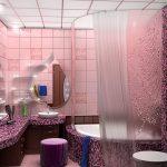 оформление ванной комнаты в квартире фото