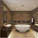 пример вытяжного вентилятора в интерьере ванной