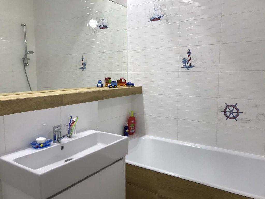 моряцкая ванная комната