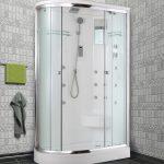 необычная кабинка в ванной стиль