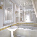 зеркала в ванной комнате маленьких размеров