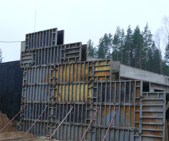 Строительство железобетонного дома 169