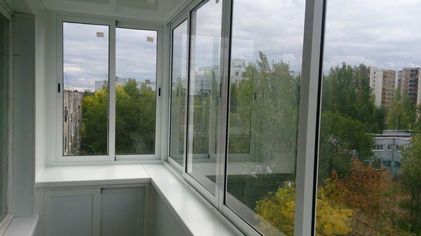 osteklenie balkonov 1