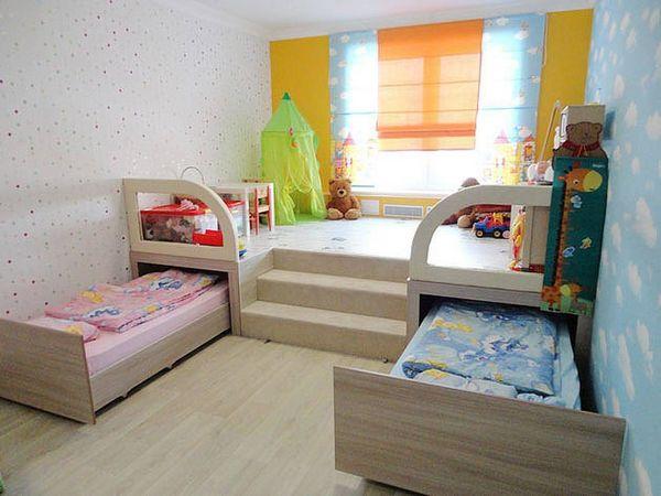 Детская кровать выдвижная на двоих своими руками