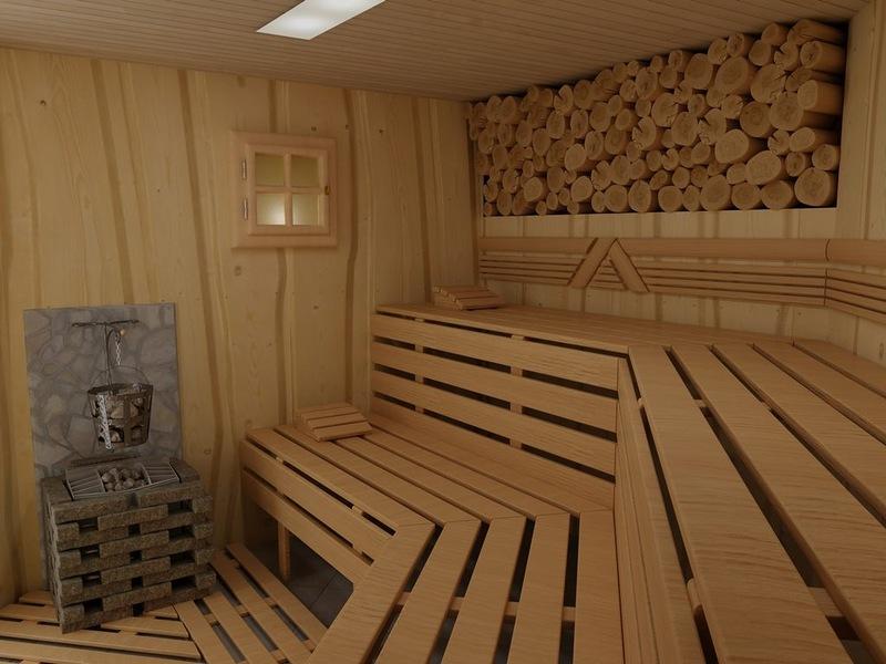 Какое дерево выбрать для строительства полки в бане?