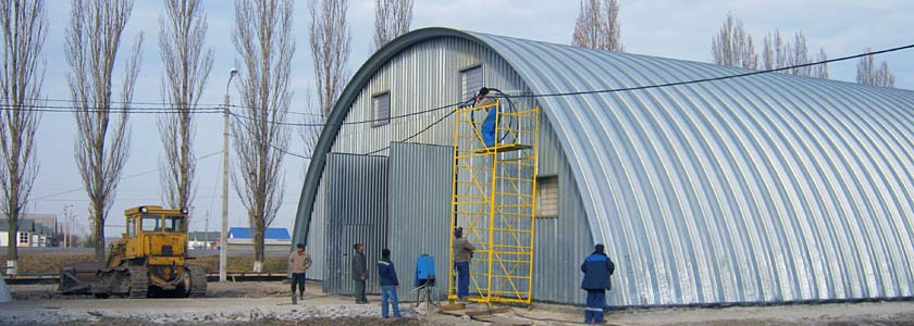 Строительство ангаров. Ангары под ключ