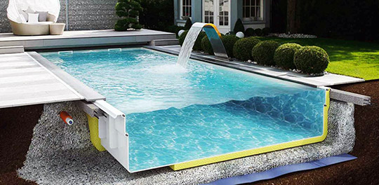 kompozitny bassein
